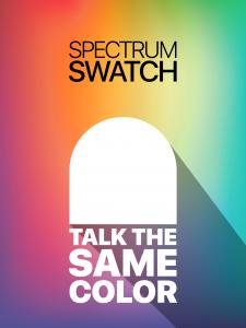 Spectrum Swatch iPad screen shot