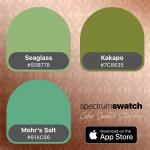 Spectrum Swatch greens