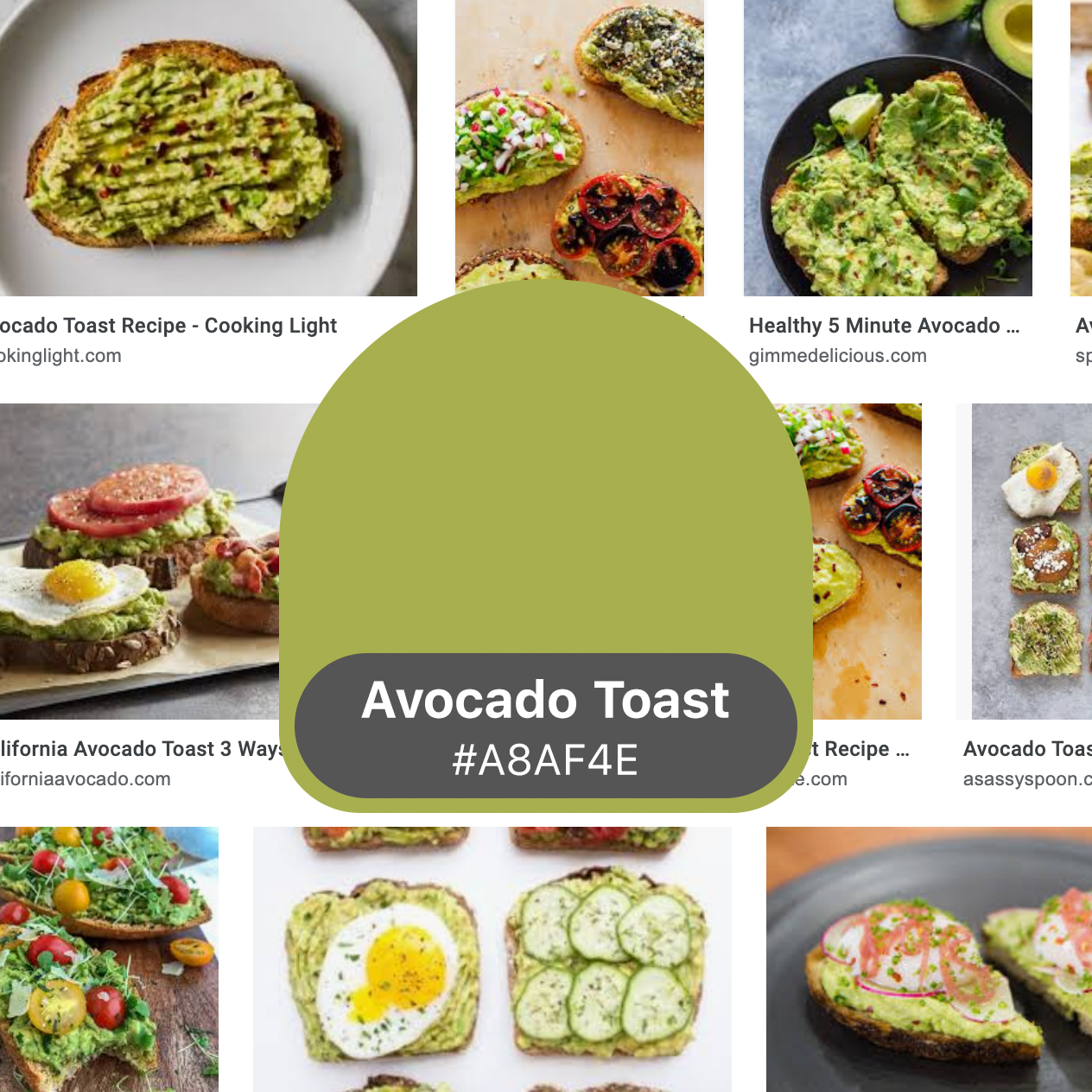 Introducing Avocado Toast