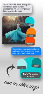 Using Spectrum Swatch Stickers in iMessage