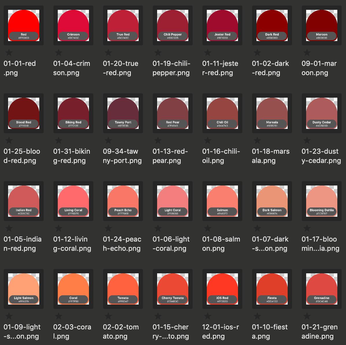 Sorting reds